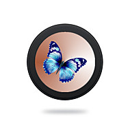 Universal Blue Butterfly 5V 2A  Wireless Charging Pad Mobile Wireless Power Charger for Galaxy S6 S6 EDGE  S7 S7 EDGE NOTE5 Samsung HTC LG Nexus Nokia