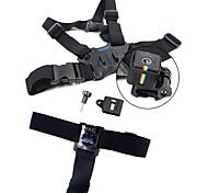 TELESIN Head Strap Belt Mount Chest Belt Strap Harness Mount Aluminum Thumbscrew J-hook for Polaroid cube