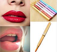 cheap -1pcs Professional Makeup Brushes Lip Brush Nylon Portable / Travel / Eco-friendly Metal Lipstick / Lip Small Brush