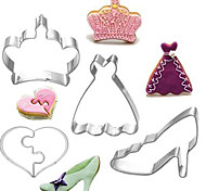 4pcs Creative Stainless Steel DIY Cake Biscuit Baking Mold Baby Series Fondant Cookie Cutters Moulds Sugar Paste Cake