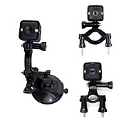 cheap -Telesin 3 in 1 Bike Bicycle Motorcycle Handlebar Mount With Suction Cup Mount For Polaroid Cube/Cube Camera Accessories