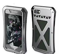 Для Защита от удара Кейс для Чехол Кейс для Армированный Твердый Металл для Apple iPhone 7