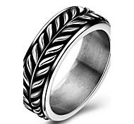 Кольца Для вечеринок Повседневные Спорт Бижутерия Титановая сталь Мужчины Массивные кольца Кольцо 1шт,8 9 10 Какна фотографии