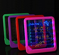 LED Message Board Erasable Electronic Fluorescent Writing Board LED Advertising Board Whiteboards Ramdon Color