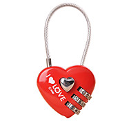 Luggage Lock Padlock Coded Lock Digit Coded lock Luggage Accessory Anti-theft For Luggage Plastic Canvas Metal