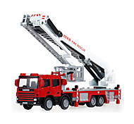 KDW Toy Cars Toys Fire Engine Vehicle Toys Retractable Truck ABS Plastic Metal Classic & Timeless Chic & Modern Pieces Kids' Boys'