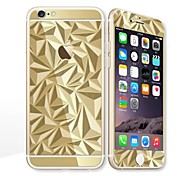 cheap -For Apple iPhone 6s/6 4.7 Screen Protector Front Screen Protector and Back Protector Electroplating Geometric Pattern