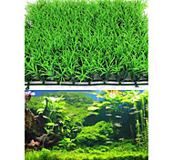 Aquarium Decoration Artificial Water Aquatic Green Grass Plant Lawn Fish Tank Landscape