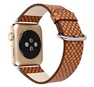 Недорогие -Часовая группа для серии яблочных часов 1 2 классическая пряжка для замены натуральной кожи