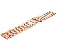 banda de acero inoxidable de 22 mm para la banda de reloj inteligente frontera / clásico Samsung s3