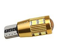 ziqiao 1 pc auto LED t10 194 w5w canbus 22 smd 4010 ha condotto la lampadina alcun errore condotto parcheggio nebbia luce auto luce