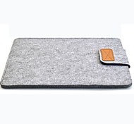 "Sleeve for Macbook 13"" Macbook Air 11"" Macbook Pro 13""/15"" Solid Color Carbon Fiber Material Woolfelt Cover Case"