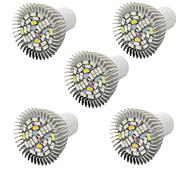 Недорогие -5pcs morsen®full спектр привело растут света 28W E27 светодиодные лампы растут на лампы система гидропоники цветок растений растут коробки