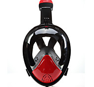 cheap -Snorkel Mask Diving Mask Anti-Fog Leak-Proof 180 Degree View Full Face Mask Swimming Diving Silicone