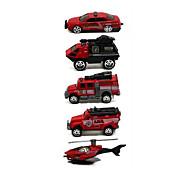 Недорогие -Playsets автомобиля Пожарная машина Игрушки Грузовик Металл Классический и неустаревающий Изысканный и современный 1 Куски Мальчики