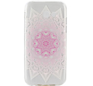 cheap -For Samsung Galaxy A3(2017) A5(2017) Ultra-thin Transparent Case Back Cover Case Pink Flower Soft TPU for  A5(2016) A3(2016)