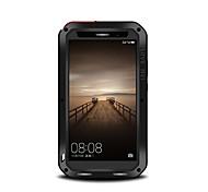 Недорогие -Для Защита от удара Защита от пыли Защита от влаги Кейс для Чехол Кейс для Один цвет Твердый Металл для Huawei Huawei Mate 9