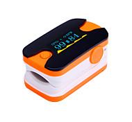 Цифровой кончик пальца пульсоксиметр OLED-дисплей монитор сердечного ритма синий и оранжевый