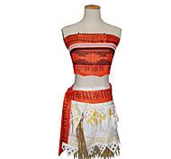 10b26aa3e cheap -Princess Fairytale Moana Cosplay Costume Women's Halloween  Carnival Children&#