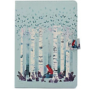 cheap -For Case Cover with Stand Pattern Full Body Case Tree Hard PU Leather for Apple iPad pro 10.5 iPad (2017) iPad Pro 9.7'' iPad Air 2 iPad