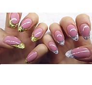 Недорогие -2box Стикер искусства ногтя Руководство Советы Французский макияж Косметические Ногтевой дизайн