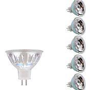 Недорогие -GMY® 6шт 3 Вт. 250 lm GU5.3(MR16) Точечное LED освещение MR16 1 светодиоды COB Тёплый белый Холодный белый AC 12V DC 12V
