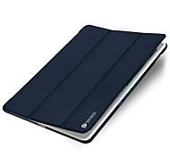 Для со стендом С функцией автовывода из режима сна Оригами Кейс для Чехол Кейс для Один цвет Твердый Искусственная кожа для AppleiPad