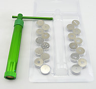 Недорогие -20discs Sugarcraft сахара инструмент пасты экструдер для глины фимо корабля пушки украшения торта скульптуры
