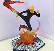 Anime Action Figures Inspired by One Piece Sanji PVC 15.5 CM Model Toys Doll Toy