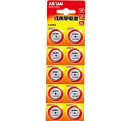 Nanfu A76 монета ячейки кнопки щелочные батареи 1.5V 10 шт