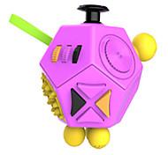 Недорогие -Игрушки гладкая скорость куб новинка стресс relievers магия куб черный оранжевый пластик