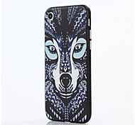 For Apple iPhone 7 Plus iPhone 7 iPhone 6s Plus iPhone 6 Plus iPhone 6s iPhone 6 Case Cover The Wolf PC Back Shell TPU Frame