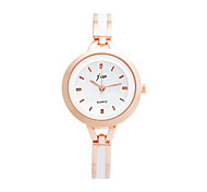 Women's Bracelet Watch Quartz Rose Gold Plated Stainless Steel Band Vintage Pink