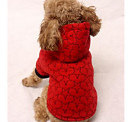 Dog Coat Dog Clothes Casual/Daily Sports Stars Black Beige Gray Red