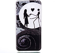 Для samsung galaxy tpu материал луна пара шаблон светящийся корпус телефона j5 премьер j710 j510 j310 j3 j120 g530 g360