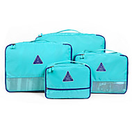 cheap -4 Pieces Travel Bag / Travel Luggage Organizer / Packing Organizer Waterproof / Travel Storage / Multi-function Bras / Clothes Fabric Travel