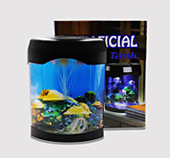Baojie acuario medusas lámpara luces de neón usb mini acuario