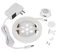 Недорогие -ywxlight® 2835smd 3w 36LED теплый белый холодный белый нас заткнуть движение активированного кровати свет 1.2m датчик таймера гибкой