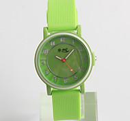 Модные часы / Кварцевый силиконовый Группа Повседневная Зеленый
