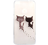 For Huawei P8 Lite (2017) P10 Case Cover Cute Kitten Pattern Painted High Penetration TPU Material Soft Case Phone Case P10 Lite