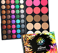 cheap -40 Color Eyeshadow + 15 Color Face Blush&Concealer Contour Concealer/Contour Blush Highlighters/Bronzers+Shadow Dry Wet Matte Shimmer Eye