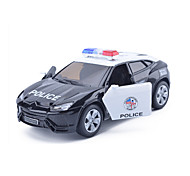 cheap -Toy Cars Model Car Military Vehicle Race Car Police car Toys Simulation Car Metal Alloy Metal Alloy Metal Pieces Kids Unisex Boys' Gift