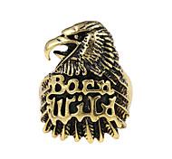 Недорогие -Классические кольца Уникальный дизайн С логотипом Тату-дизайн Винтаж бижутерия Сплав В форме животных Eagle Бижутерия Назначение Для