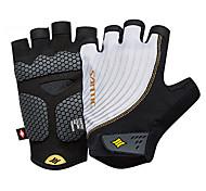 cheap -SANTIC Sports Gloves Bike Gloves / Cycling Gloves Wearable Breathable Protective Fingerless Gloves Elastane Terylene Cycling / Bike Men's