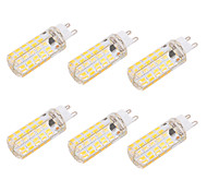 6W G9 E26/E27 LED Corn Lights T 80 leds SMD 5730 Dimmable Decorative Warm White Cold White 550lm 2700-3200    6000-6500K AC 220-240 AC