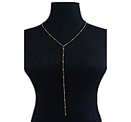 Жен. Y-ожерелья Бижутерия Бижутерия Мода По заказу покупателя Euramerican Простой стиль Бижутерия НазначениеПовседневные Одежда для
