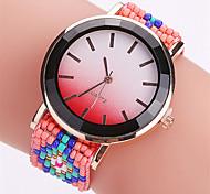 Women's Fashion Watch Wristwatch Quartz Creative Business Dial Top Brand Fabric Band Cool Casual Unqiue Watches Relogio Feminino