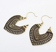cheap -Women's Heart Drop Earrings - Vintage / Fashion Silver / Bronze Earrings For Daily / Casual