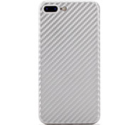 abordables -Funda Para Apple iPhone 7 Plus iPhone 7 Antigolpes Funda Trasera Color sólido Dura Fibra de carbon para iPhone 7 Plus iPhone 7 iPhone 6s