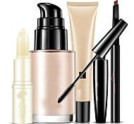 cheap -Foundation+Mascara Eyebrow+Lip Balm Wet Eye Face Lip Coverage Concealer Natural